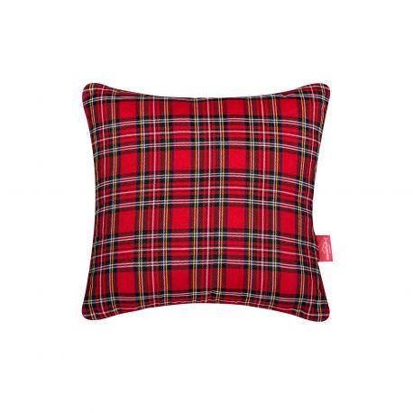 Christmas Spirit Pillow #pillow #soft #fuzzy #warm #plaids #christmas #present #interiordesign #homedeco #joy #charity #donation