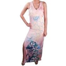 Ed Hardy Dream Tigress Dress - Muave Glow