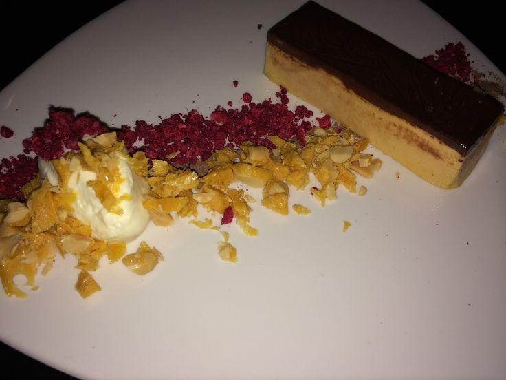 #dessert #caramel #raspberries #yum
