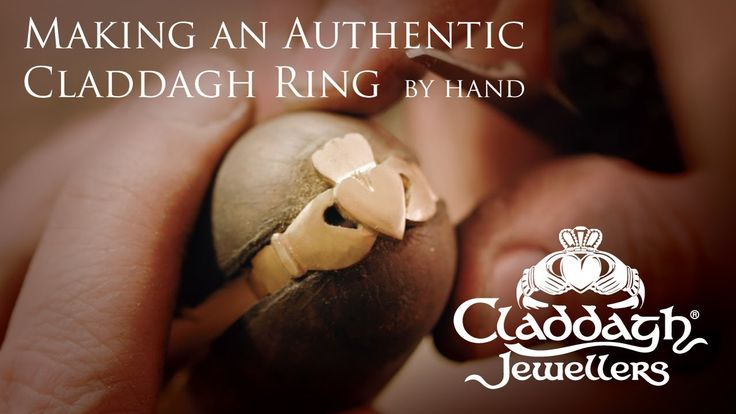 Making a Solid Gold Claddagh Ring (by hand!) at Claddagh Jewellers  - Realizzazione di un anello in oro