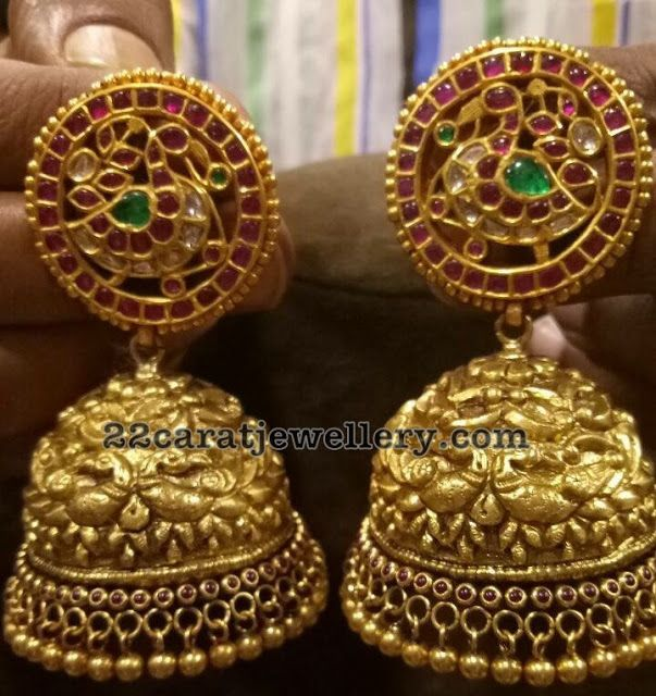 Top 7 Kundan and Antique jhumkas