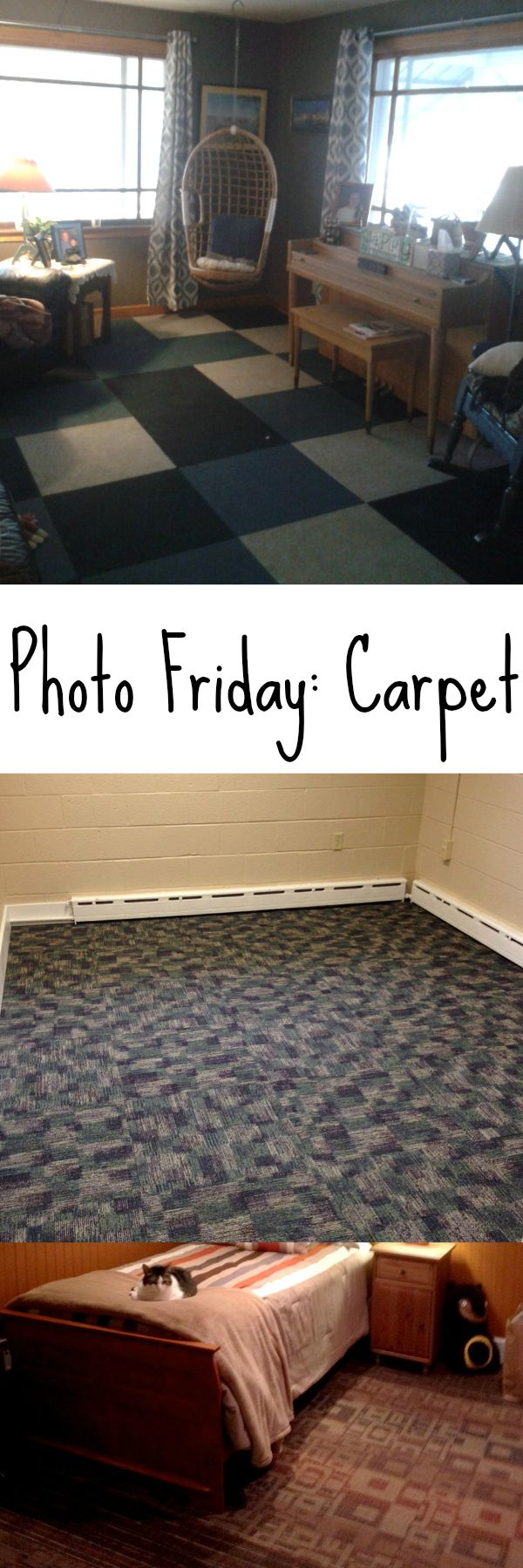 Harley color carpet tiles - Photo Friday 5 Carpet Tilesevery Daystencils