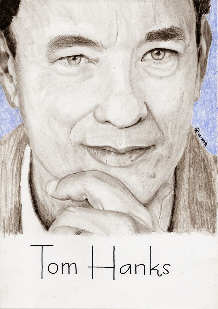 Kasia Oetelaar Art: PROJECT: Tom Hanks