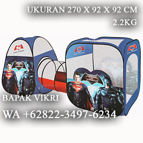 WA +62822-3497-6234, Grosir Tenda Anak Tangerang, Tenda Anak Karakter Ukuran Besar Tangerang