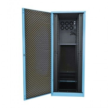 Check our best quiet server cabinet, acoustic server cabinet, 19 noise control server cabinet, and sound proof enclosure, soundproofed server room in a box and other products.