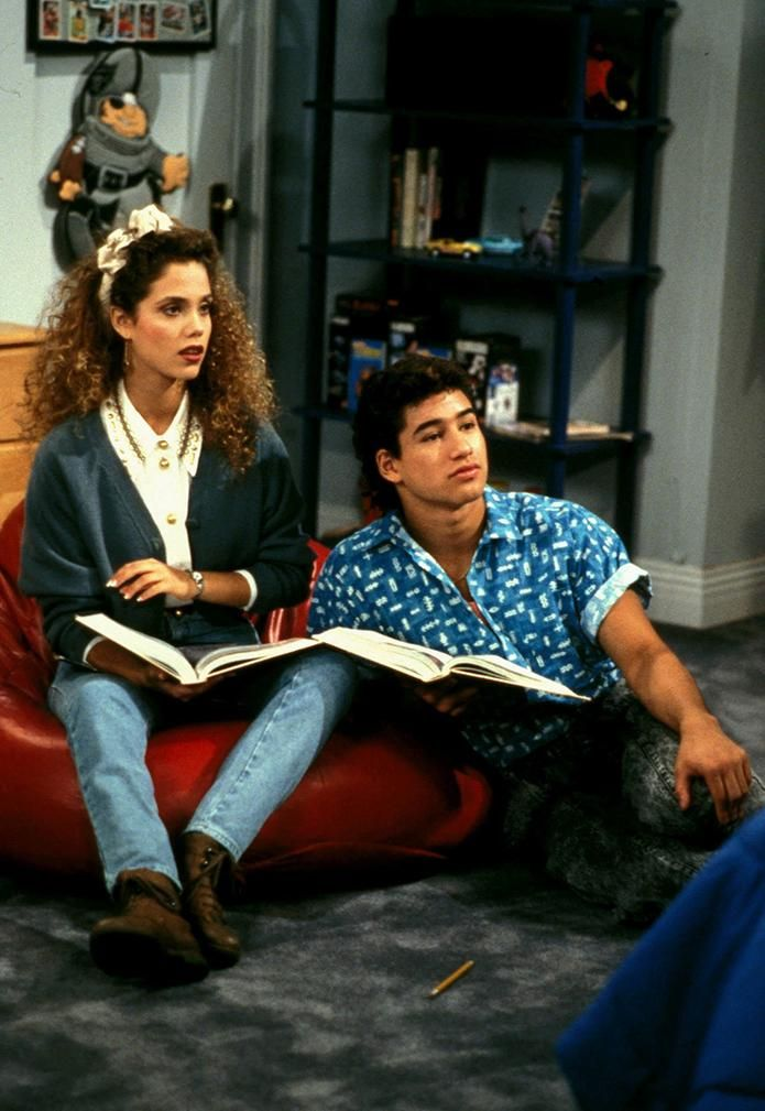 Saved by the Bell - Jessie Spano setting trends since the 80s