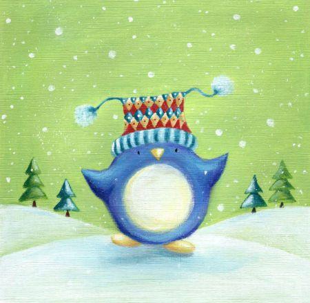 Ileana Oakley - Ileana Oakley Christmas Penguin