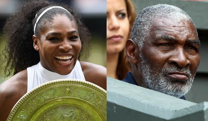 Serena Williams father suffers stroke and has memory issues
