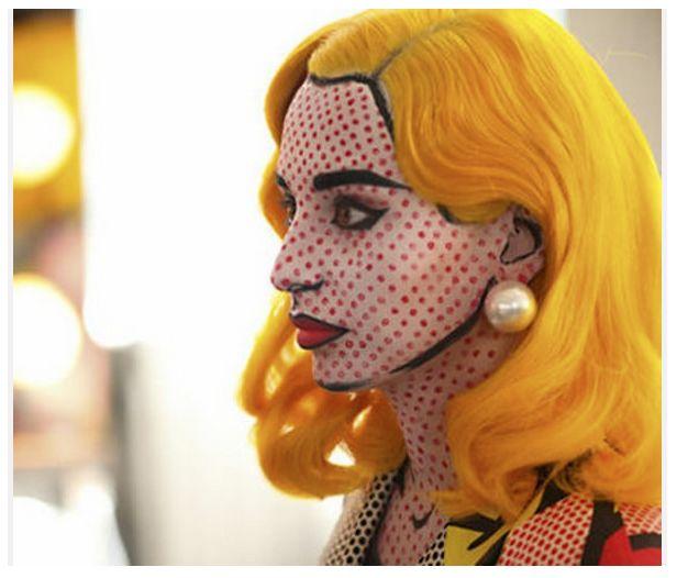 maquillage halloween femme dessiné - Recherche Google