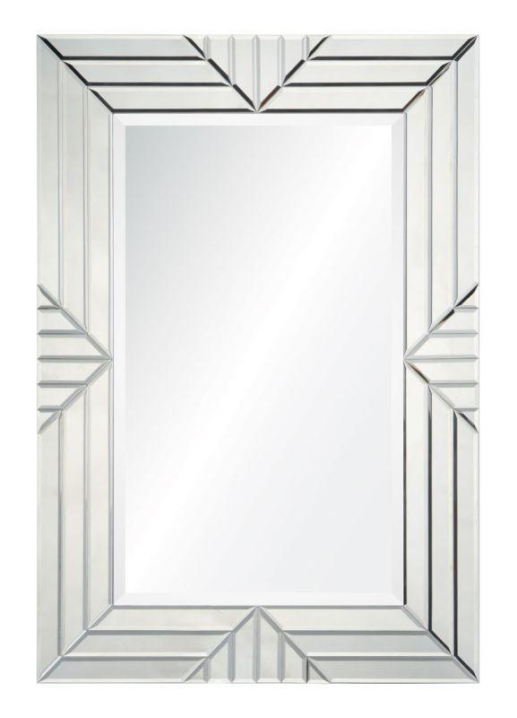 "Cooper Classics 41042 Emeric 38.5"" X 26.75"" Mirror Frameless Mirror Home Decor Mirrors Lighting"
