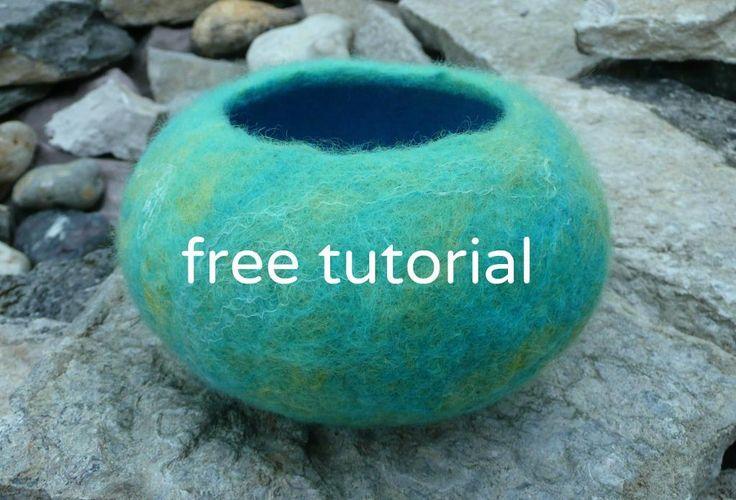 Felting Ideas   Project on Craftsy: Free Tutorial - wet ...