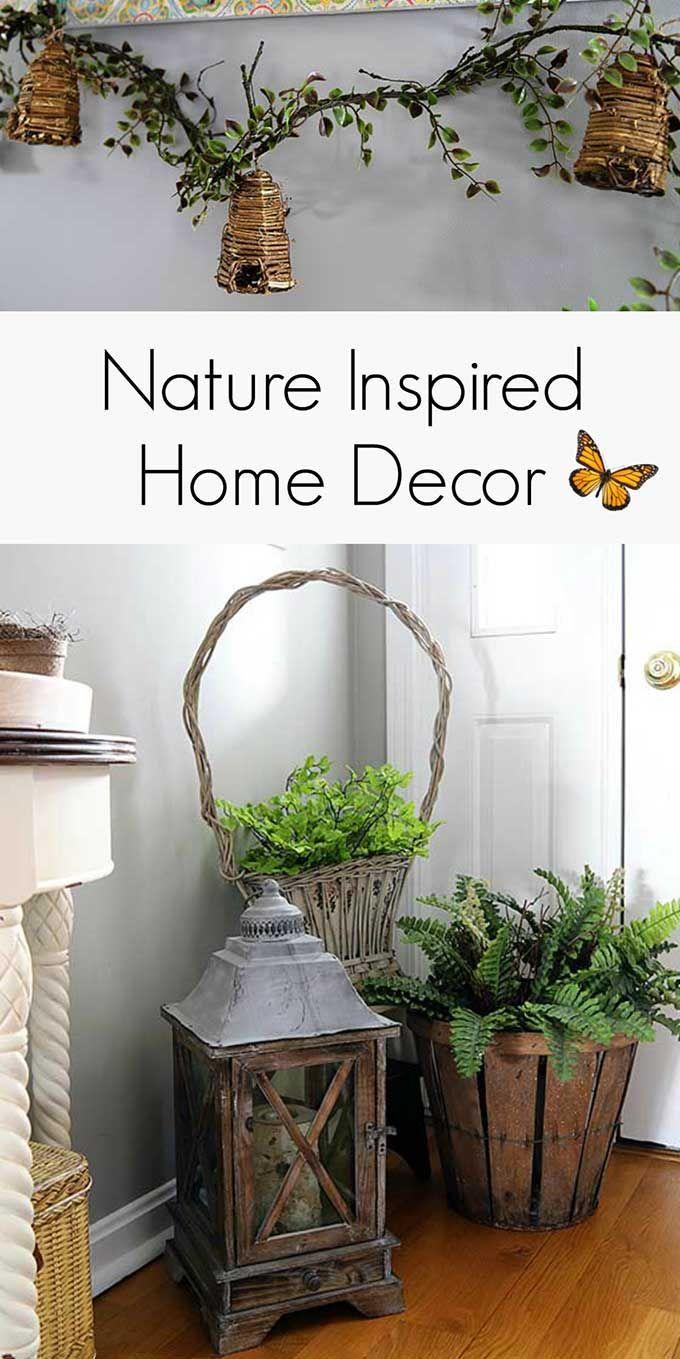 Nature Inspired Decor For Spring   Nature inspired decor, Spring ...