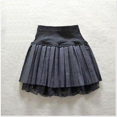 kvinders høj talje mode slank plisserede nederdele – DKK kr. 121