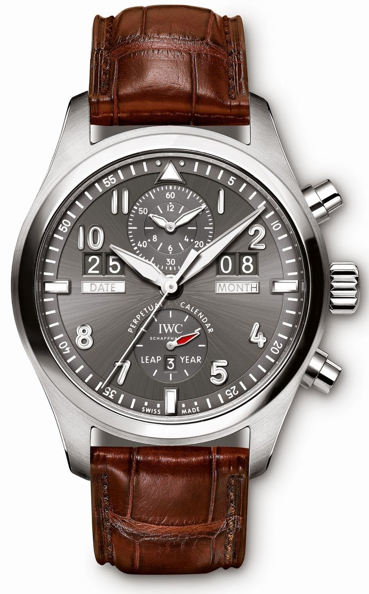 IWC - Spitfire Perpetual Calendar Digital Date-Month.  #IWC #watches #luxury