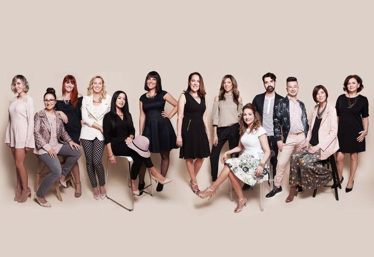 L'agence de Stylistes Les Effrontés -l'équipe 2017
