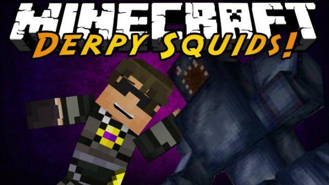 Derpy Squid Mod for Minecraft 1.6.4