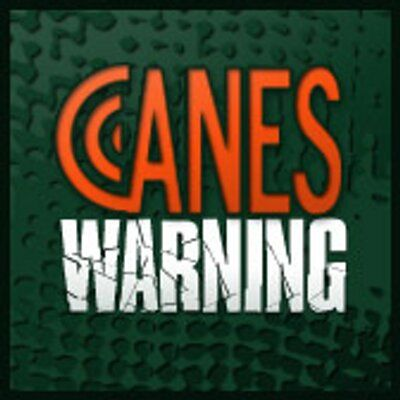 CanesWarning.com @CanesWarning FanSided blog dedicated to Miami Hurricanes coverage. Check us out and leave a comment. 5 Time Natl Champs Football; 4 Time Natl Champs Baseball  caneswarning.com  Joined September 2011