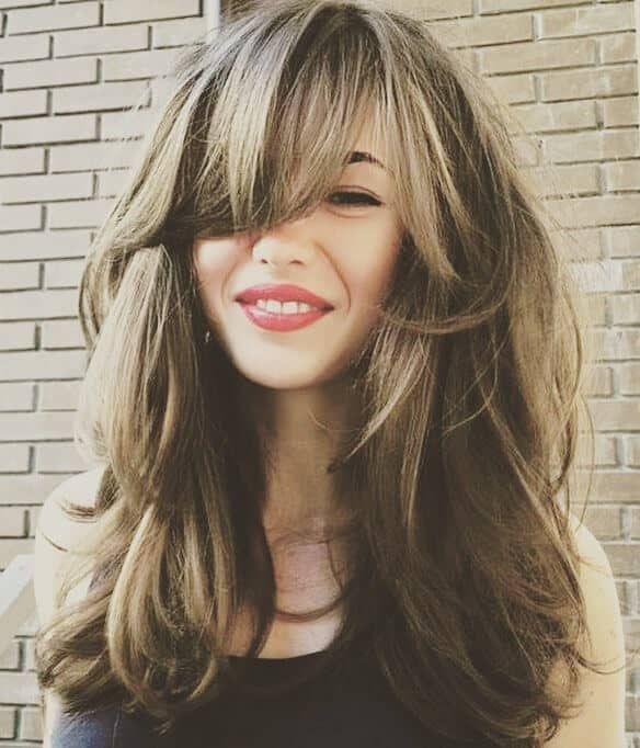 50 Fun Fresh Ways To Style Long Hair With Bangs Long Hair With Bangs Haircuts For Long Hair With Bangs Haircuts For Long Hair