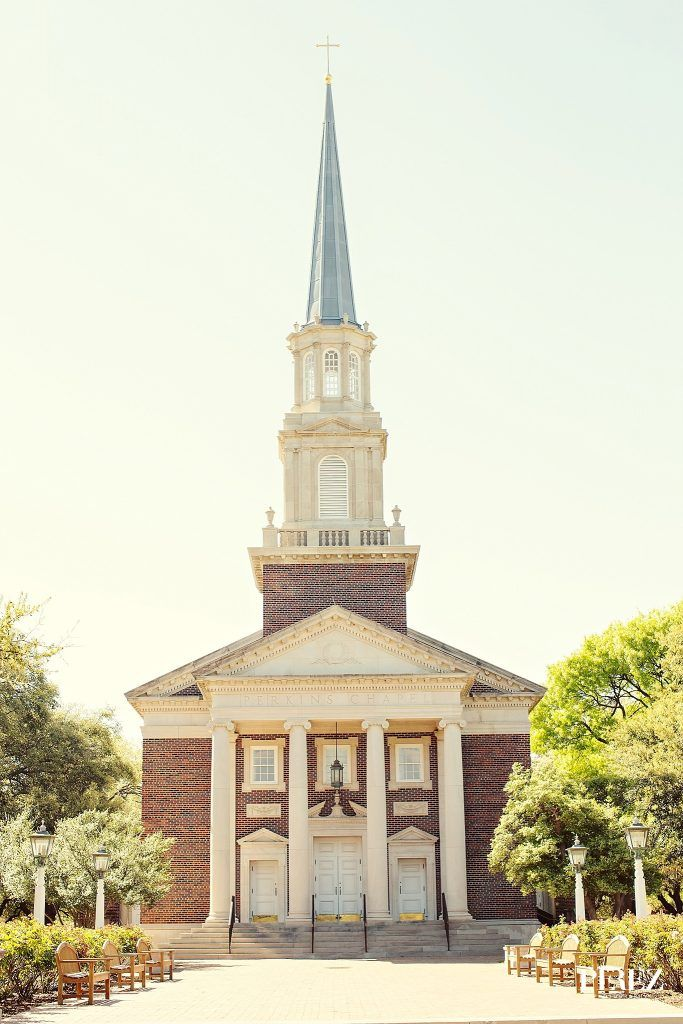 Perkins Chapel on the campus of Southern Methodist University in Dallas, Texas - Photos by Perez Photography