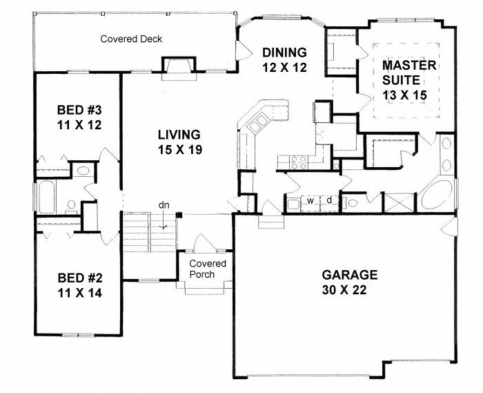 60 best ranch floor plans that i love images on Pinterest | Ranch ...