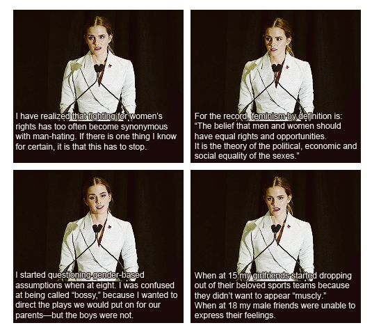 And she never fails to be on point when addressing gender equality during her moving speeches.   What's Your Favorite Emma Watson Quote?
