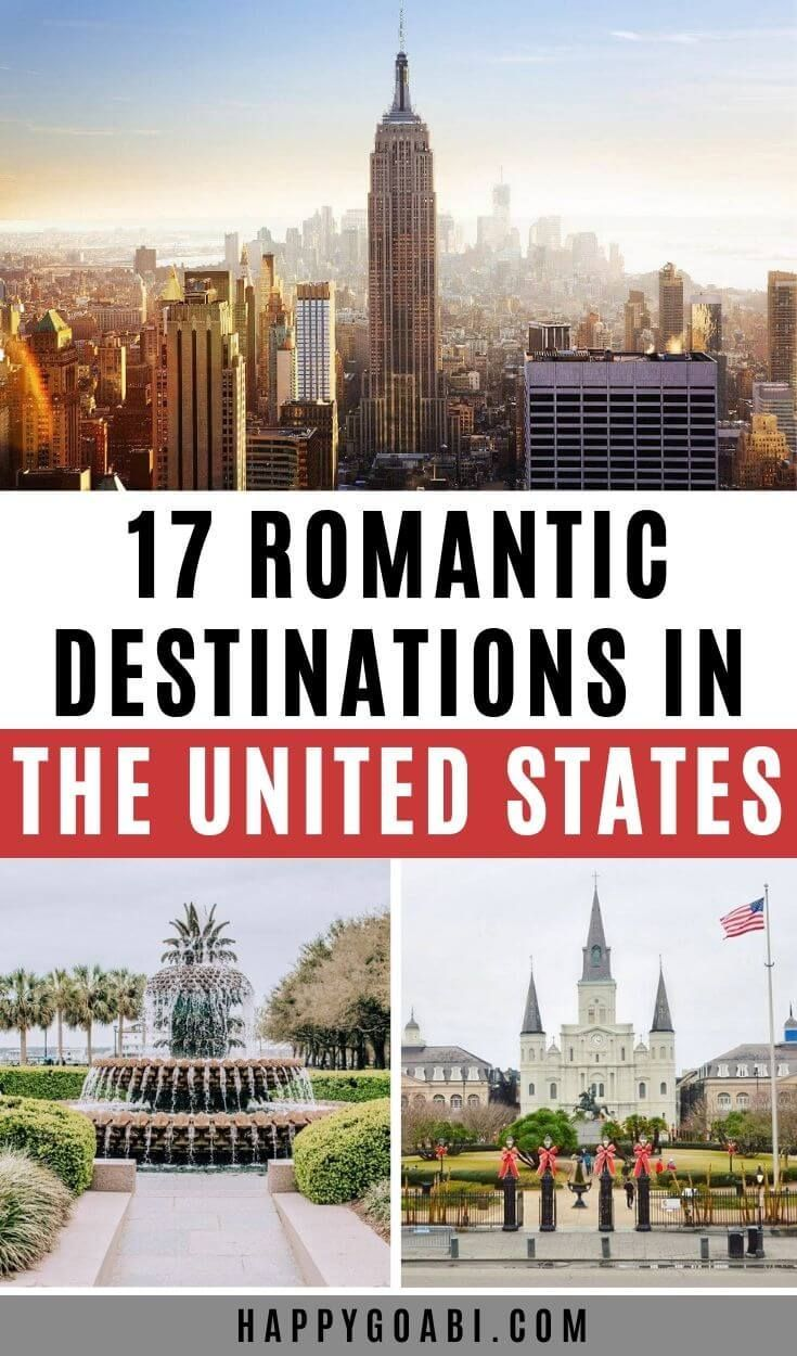 17 Most Romantic Getaways In The Usa In 2020 Travel Usa Romantic Travel United States Travel