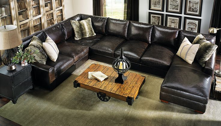 The Dump Furniture Howard Sectional Living Room Pinterest Leather Italian And Furniture
