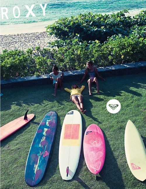 #ROXY, #surf #surfboard