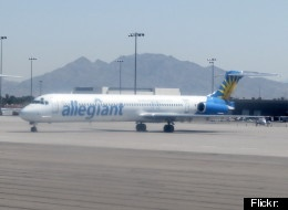 Allegiant Air announced on Monday that it would start charging passengers $35 for carry-on luggage by Wednesday. According to AirlineReporter.com, the bag fee will go live on the airline's website at midnight Tuesday.