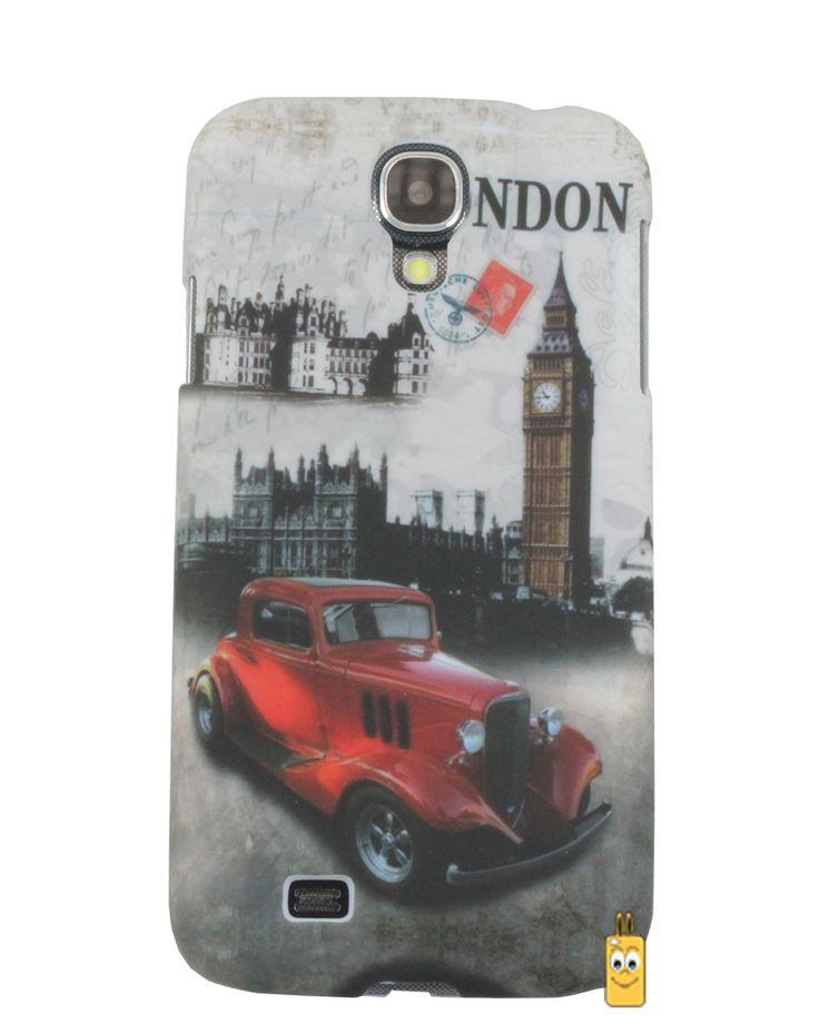 Samsung Galaxy S4 London Araba Desenli Kılıf