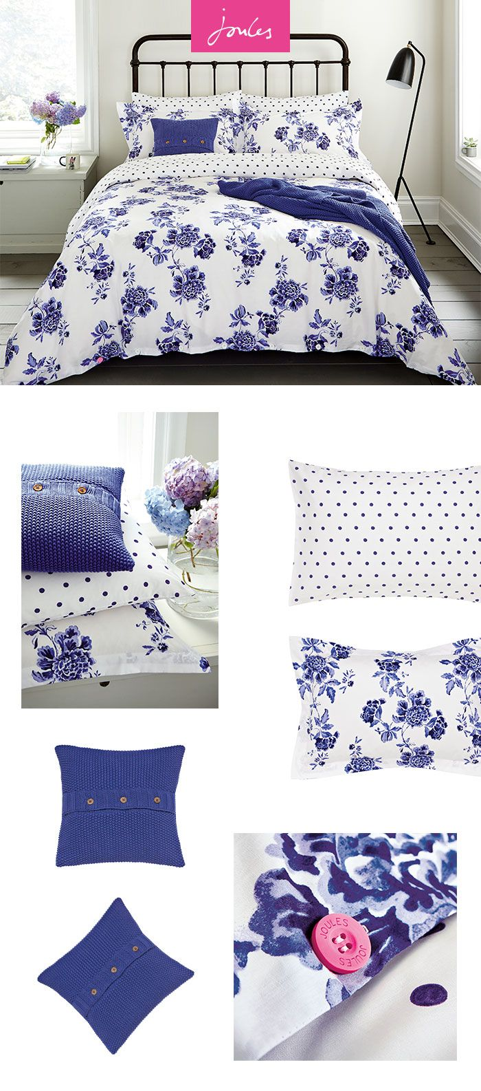 When it comes to brightening up your bedroom, there's no better way to do it than with the latest bedding collection from Joules.