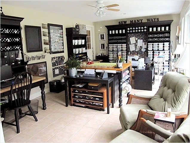 350 Best Craft Room Design Ideas Images On Pinterest | Craft Rooms, Scrapbook  Rooms And Craft Room Design