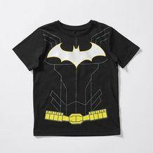 Batman Short Sleeve T-Shirt & Mask With Hood - Target