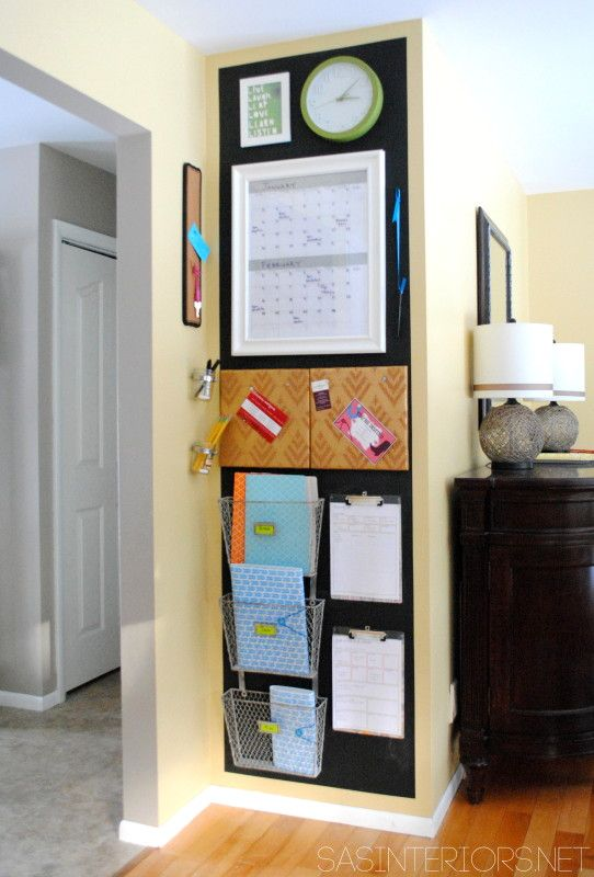 Top 10 Family Command Centers to Organize Your Life | The Turquoise Home
