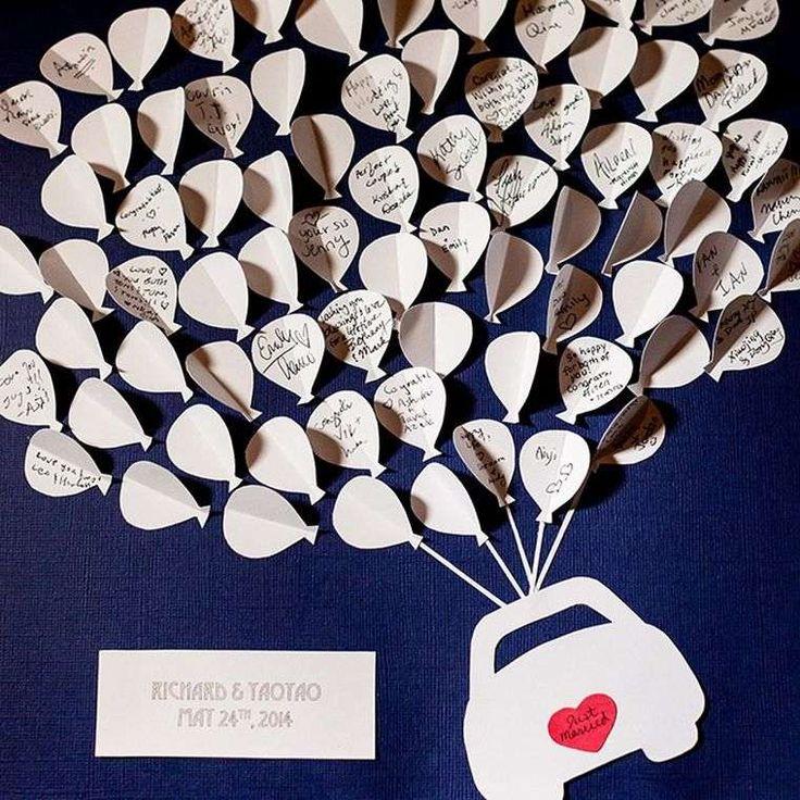 Livre d'or mariage original en 30 idées à personnaliser !