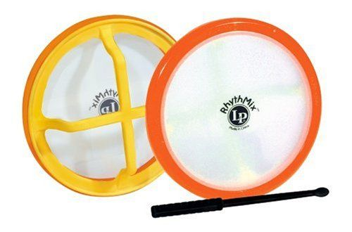 LP RhythMix X-Drum with Drumstick - http://www.kidstrument.com/drums-percussion/lp-rhythmix-x-drum-with-drumstick