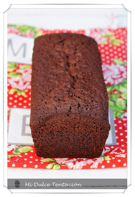 Plum cake integral de chocolate