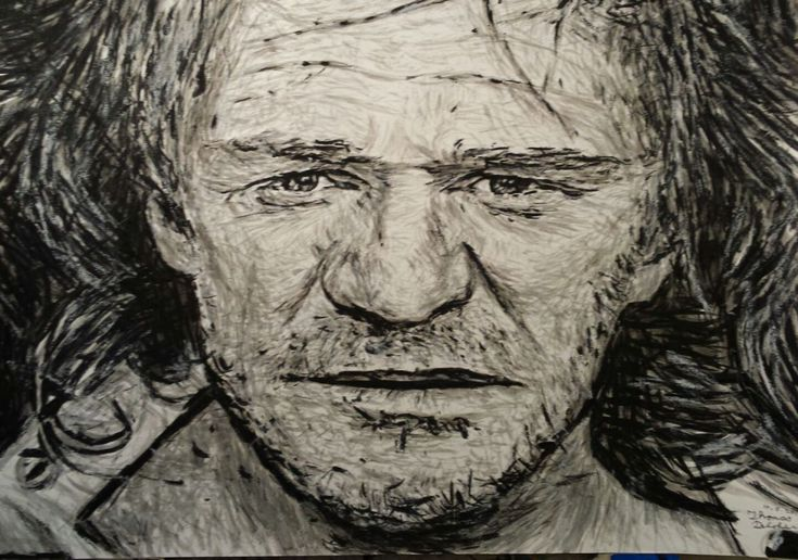 Two images of Richard Harris by Clare Artist Thomas Delohery are being used to promote the Richard Harris International Film Festival 2014.