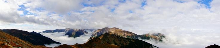 The Tatra Mountains in autumn