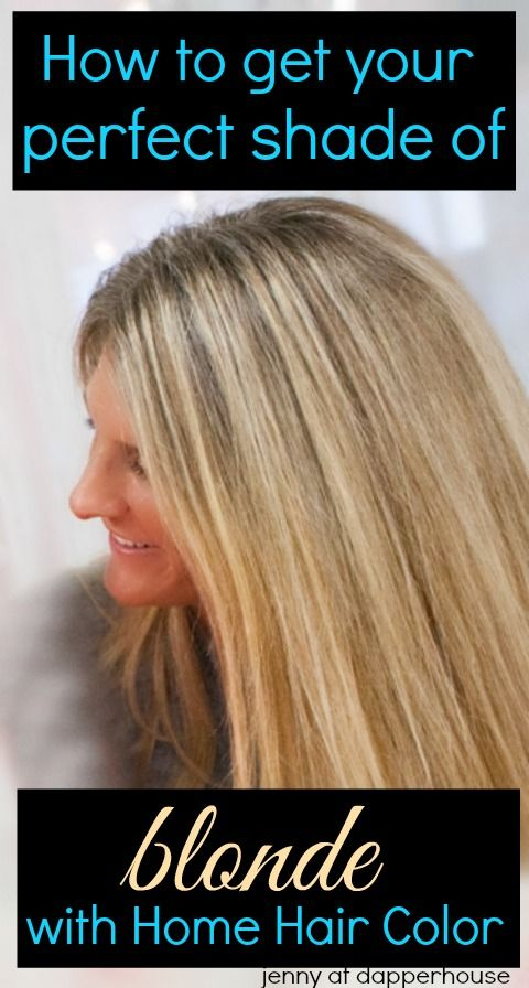 How to get your perfect shade of blonde with at home hair