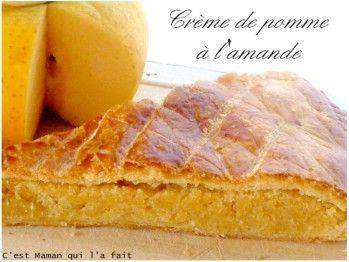Voici+une+galette+des+rois+à+l'amande+et+à+la+pomme+qui+est+un+délice+riche+et+fruité+à+la+fois.Il+faut+dire+que+j'ai+10+kg+de+pommesà+la+maison+donc+quel+beau+prétexte+pour+faire+de+ce+fruitl'ingrédient+d'exception+de+ma+galette+de
