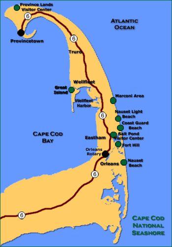 No Nonsense Guide to The Cape Cod National Seashore...