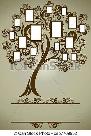 Family tree for wall