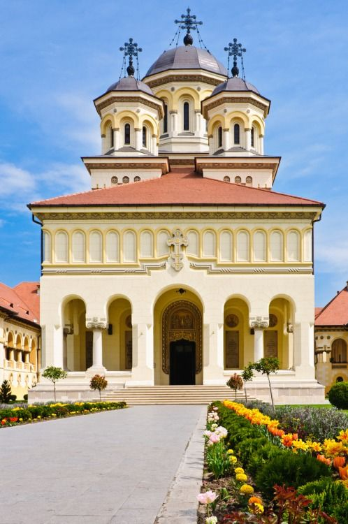 Coronation Cathedral, Alba Iulia - Romania #places