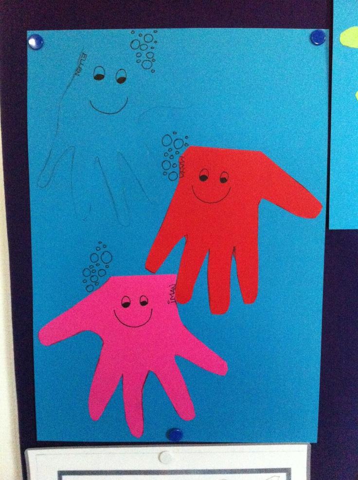 Blæksprutter-lavet ganske simpelt!