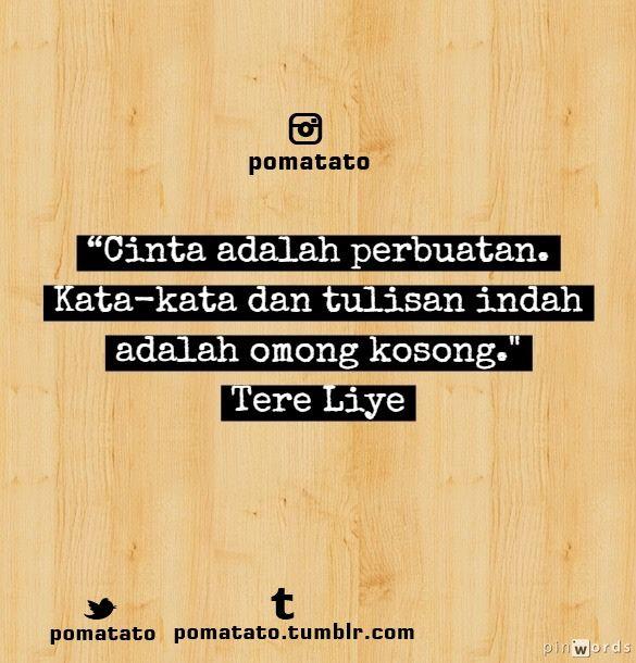 Cinta | Tere Liye.