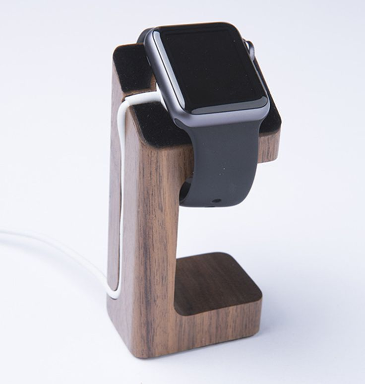 New 50pcs/lot Apple Watch iWatch Stand Wooden Charging Stand Bracket Docking Station Stock Cradle Holder For Both 38mm