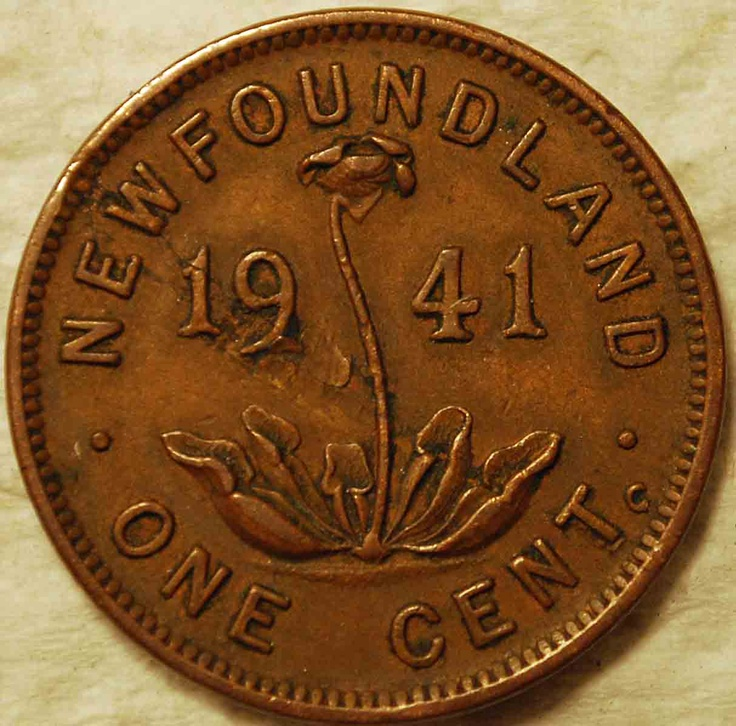 Pre-Confederation penny from Newfoundland - Newfoundland was a separate British colony and then dominion until 1949, when it joined Canadian Confederation.