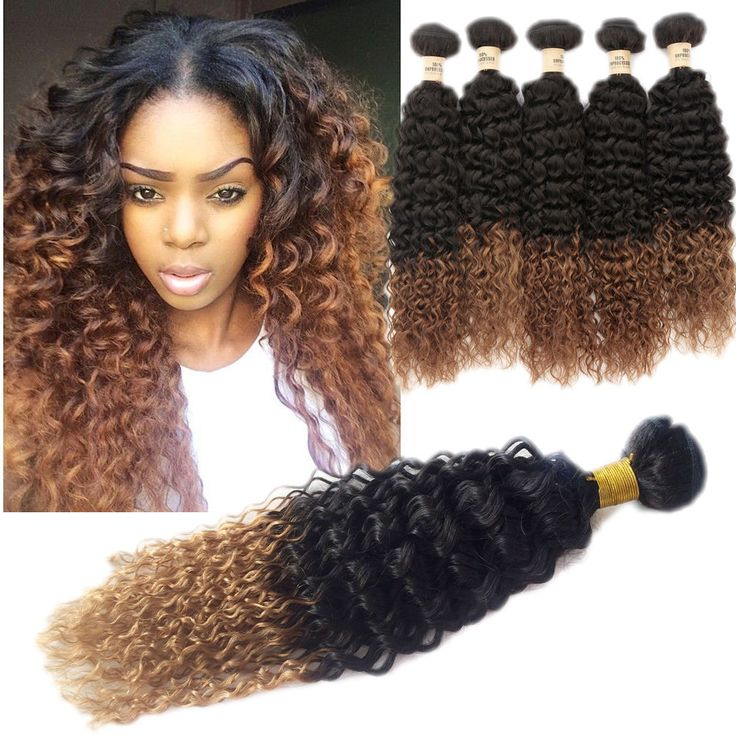 1234 best high quality real human hair extension images on fashion real human hair extensions 100g 1b30 afro curly wave haar weft ombre pmusecretfo Gallery