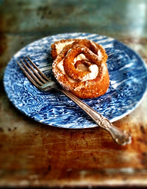 sweetsugarbean: Give Thanks: Maple Cream Cheese Pumpkin Roll